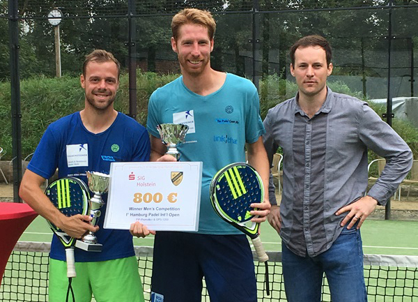 Padel: Krenn/Alten siegen in Hamburg